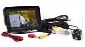 "Backkamerasystem 4,3"" monitor inkl. 1st kamera till VW Caddy 2010-"