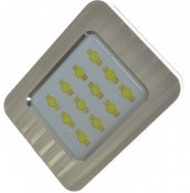 LED-panel 12V 12xDiod Xenonvit 28-42mm